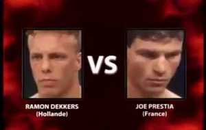 Ramon Dekkers vs Joe Prestia I