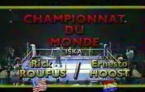 RICK ROUFUS VS ERNESTO HOOST 1 /PART 1